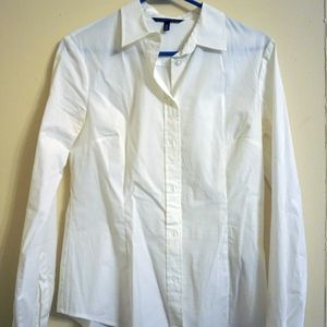 White VS Button Down Shirt